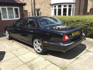 Valeting and detailing for Jaguar XJ8