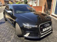 Valeting and detailing for Audi RS6