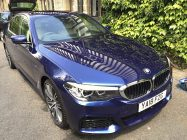 Detailing and valeting for BMW 530d