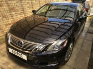 exus GS450h car valeting service South Yorkshire