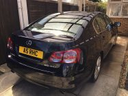 Car valeting for Lexus GS450h