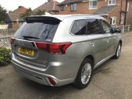 Detailing and valeting for Mitsubishi Outlander