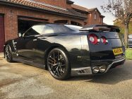 Valeting and detailing for Nissan GTR