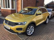Valeting and detailing for VW T-Roc