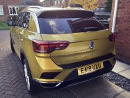 VW T-Roc car detailing South Yorkshire