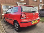 VW Polo car valeting service South Yorkshire