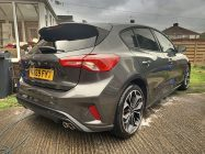 Ford Focus ST Line car valeting service Doncaster