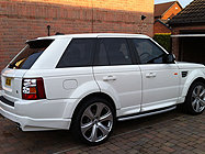 Range Rover car protection Doncaster