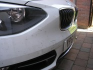 Before detailing service for BMW 116i