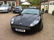 Aston Martin DB9 vehicle detailing South Yorkshire