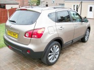 Valeting and detailing for Nissan Qashqai