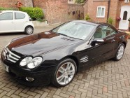Valeting and detailing for Mercedes SL350