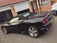Valeting and detailing for Ferrari Spider