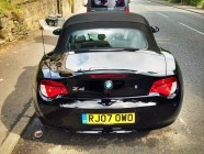 Detailing service for BMW Z4