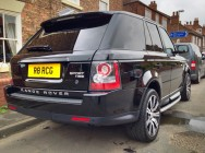 Detailing and valeting for Range Rover Sport