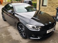 Detailing and valeting for BMW 435d X Drive