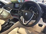 Valeting and detailing for BMW 540i