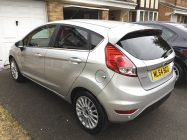 Ford Fiesta car valet North Yorkshire