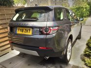 Discovery Sport car valeting service South Yorkshire