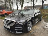 Detailing and valeting for Mercedes Benz S Class