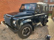 Detailing and valeting for Land Rover Defender